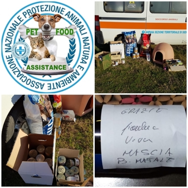PET FOOD ASSISTANCE A SIENA